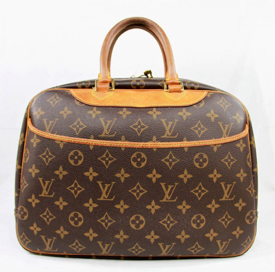 Sac à main, sacoche Louis Vuitton Deauville monogramme