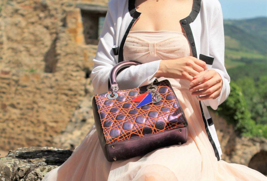 Sac Dior Anselm Reyle en excellent état. Iconprincess, icon princess