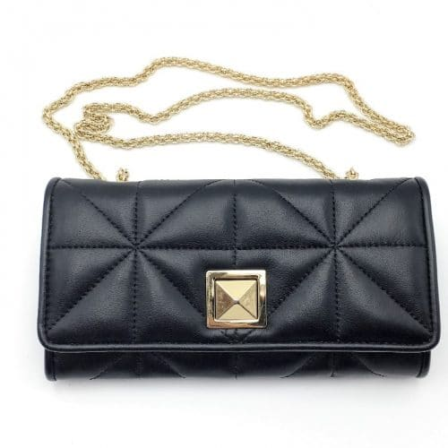 Sonia Rykiel Portefeuille Cross Body Noir