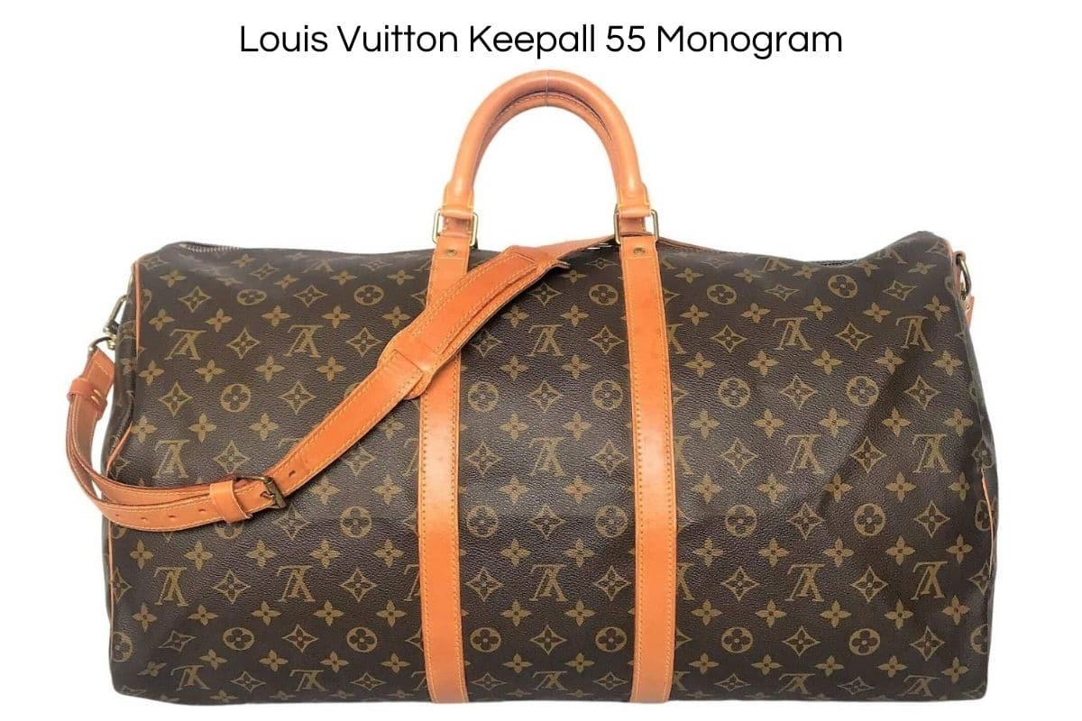 Louis Vuitton Keepall 55 certifié