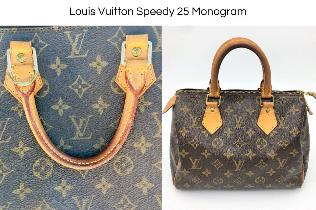 Louis Vuitton Speedy 25 certifié authentique