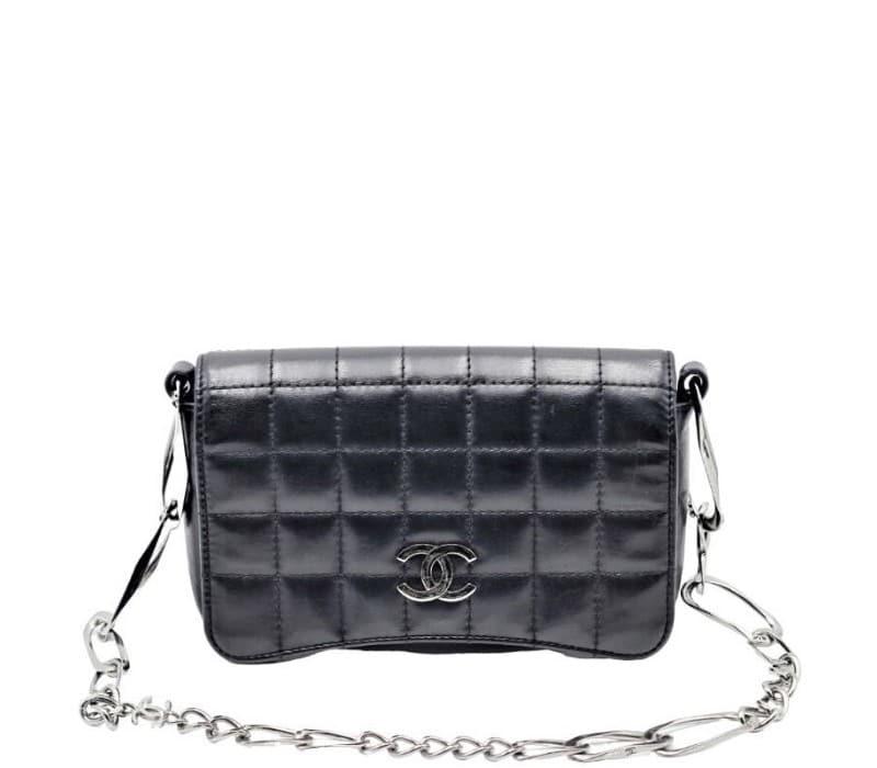 Sac à Main Mini Chanel Timeless Cuir Noir Série Limitée