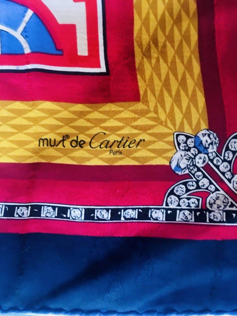 Foulard Cartier authentique de iconprincess