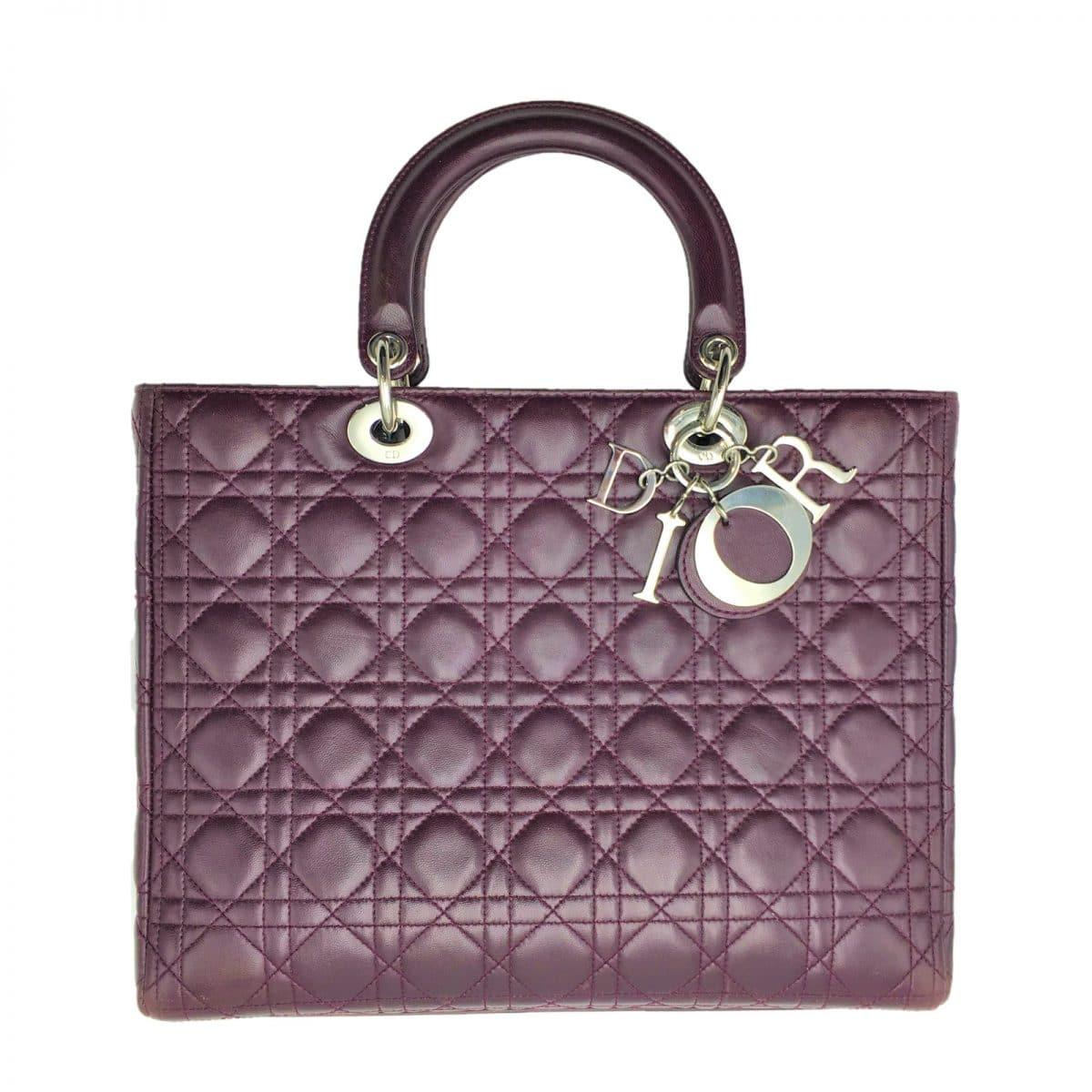 Authentique Lady Dior de Dior en excellent état