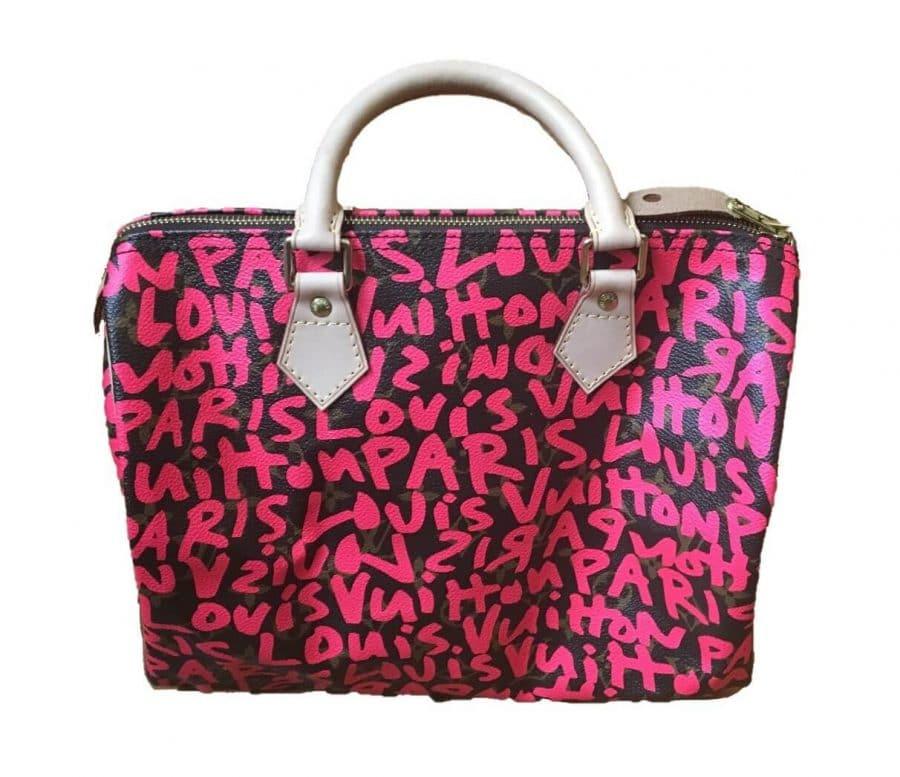 Sac Louis Vuitton Speedy Stephen Sprouse authentique