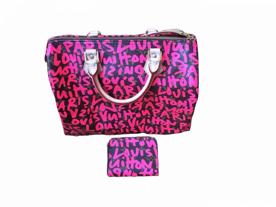 Louis Vuitton Speedy Stephen Sprouse A