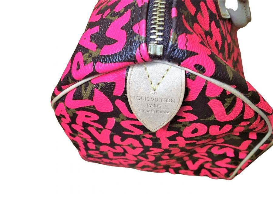 Louis Vuitton Speedy Stephen Sprouse C