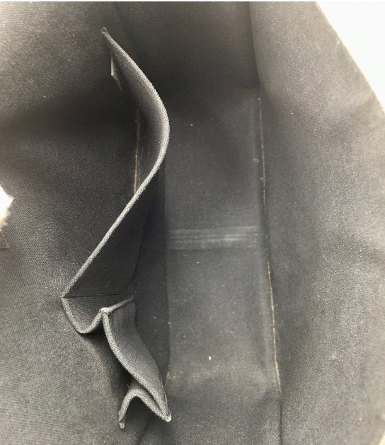 Sacoche unisex Louis Vuitton Andrei Cuir Taiga couleur Ardoise