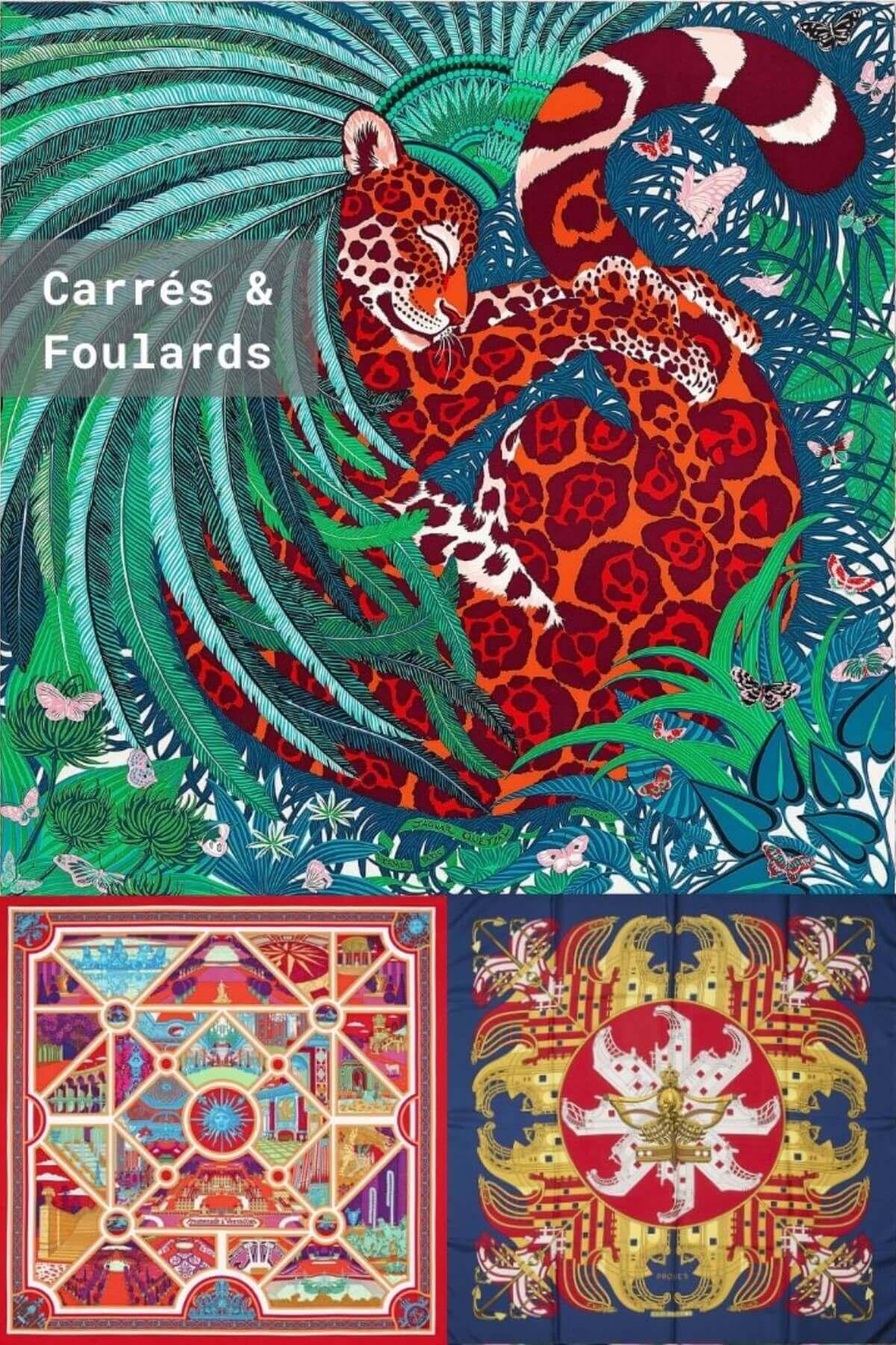 Carrés Foulards Authentiques Iconprincess