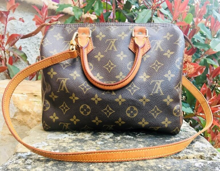 Sac à main Louis Vuitton Speedy 25 Monogramme bandoulière