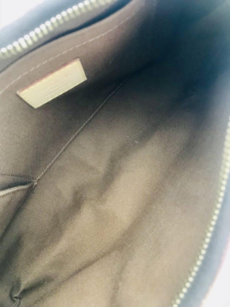 Authentique sac Louis Vuitton Galliera PM monogramme et cuir naturel