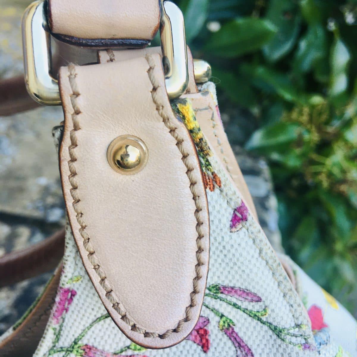 Sac Gucci Jacky O floral toile multicolore, occasion authentique IconPrincess