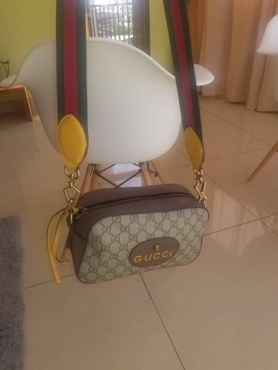 Sac Gucci Supreme messenger cross body. Authentique occasion IconPrincess