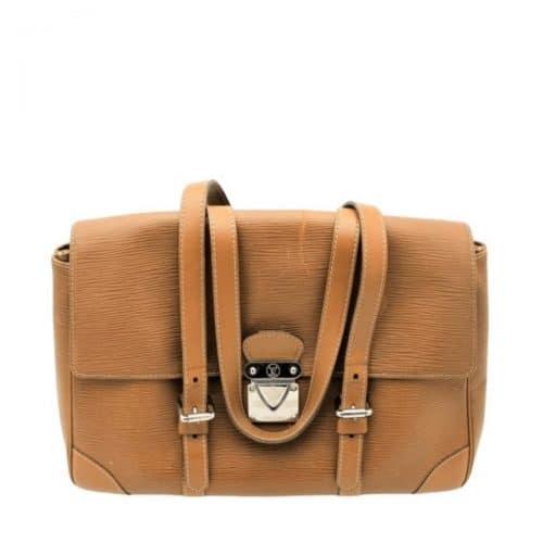 Sac Louis Vuitton Ségur Cuir épi marron. Authentique occasion IconPrincess