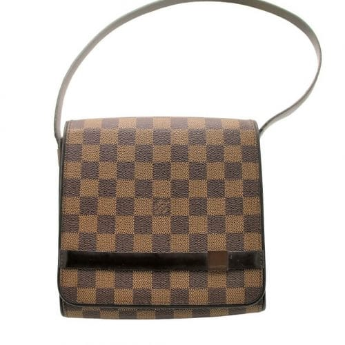 Sacoche Louis Vuitton Tribeca Damier ébène. Authentique occasion IconPrincess