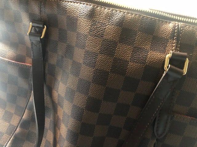 Sac Louis Vuitton Totally MM Damier Ébène occasion authentique