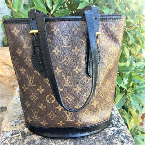 Louis Vuitton Bucket Pm Monogramme authentique occasion iconprincess