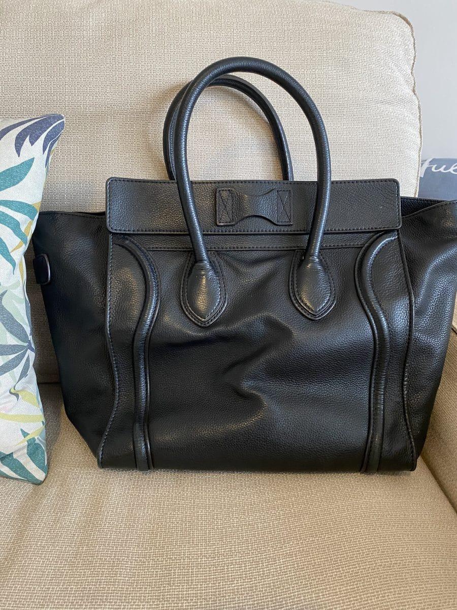 Superbe cabas Céline luggage en cuir, excellent état. Iconprincess icon princess
