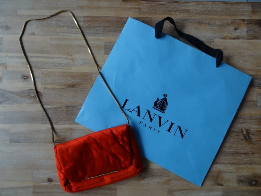 Pochette Lanvin en bon état. Iconprincess, icon princess
