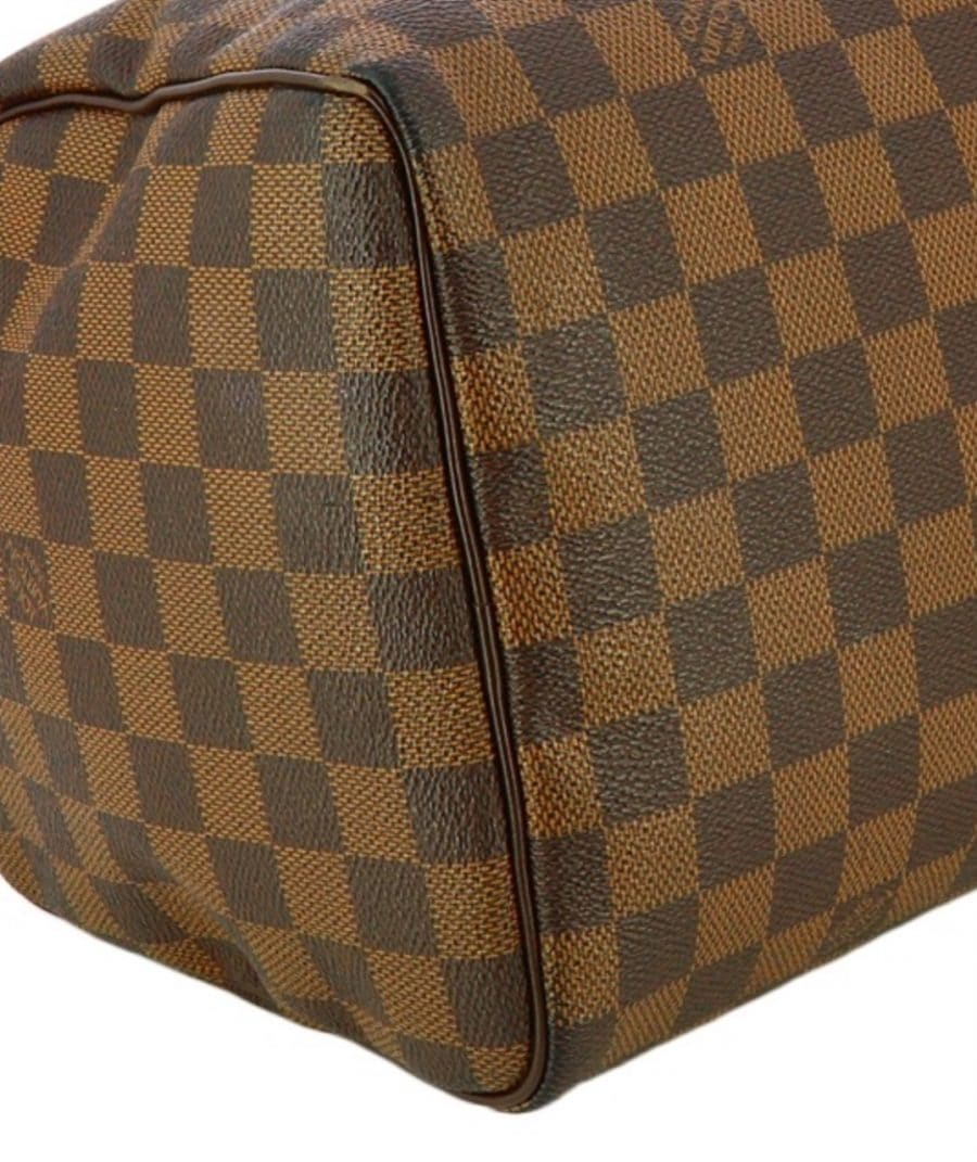 ac Louis Vuitton Speedy 30 damier ébène. Excellent état.
