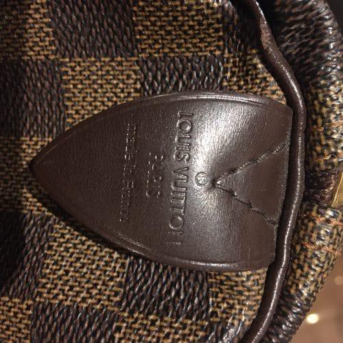 ac Louis Vuitton Speedy 30 damier ébène. Excellent état.