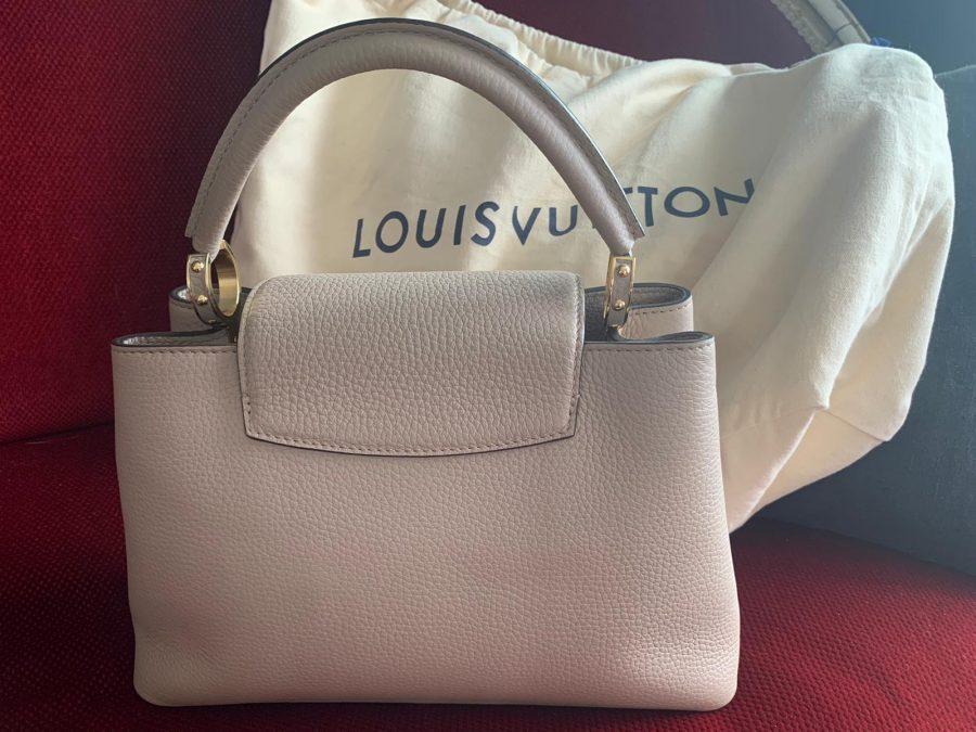 Sac Louis Vuitton Capucine, état neuf.. Iconprincess, icon princess