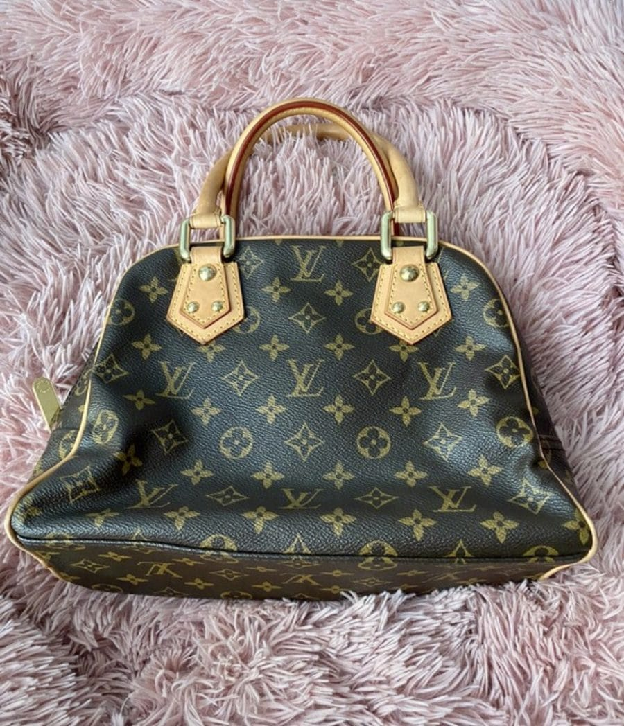 Louis Vuitton Manhattan PM monogramme excellent état