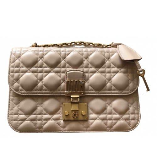 Sac DiorAddict de Dior en cuir rose en excellent état. Iconprincess icon princess