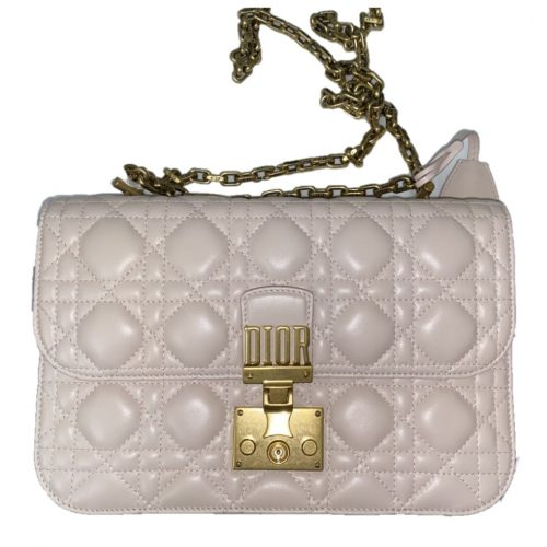 Sac DiorAddict de Dior en cuir rose en excellent état. Iconprincess icon princess