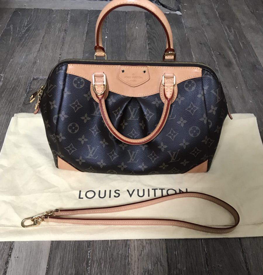 Sac Louis Vuitton Segur en toile monogramme, pre-loved en très bon état. Iconprincess, icon princess