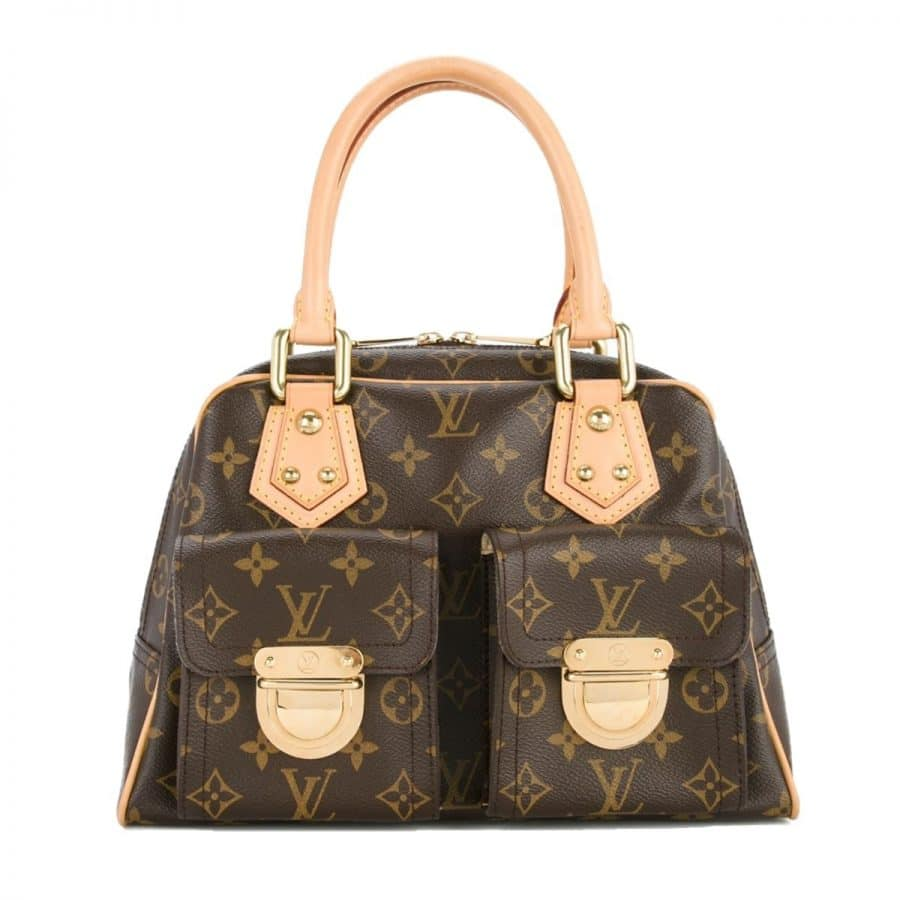 Louis Vuitton Manhattan PM monogramme excellent état sur IconPrincess