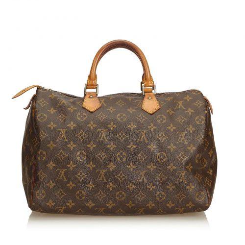 Louis Vuitton Speedy 35 monogramme en excellent état - IconPrincess