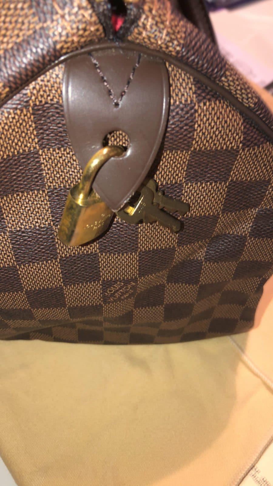 Sac Louis Vuitton Speedy 30 damier azur comme neuf. IconPrincess, icon princess