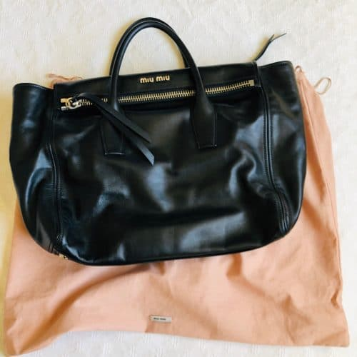 Sac Miu Miu Vitello en cuir. Etat neuf. Iconprincess, icon princess