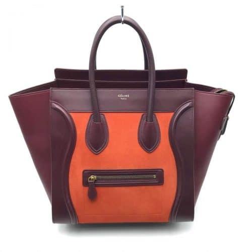 Sac Céline luggage GM en cuir, certifié iconprincess, icon princess.