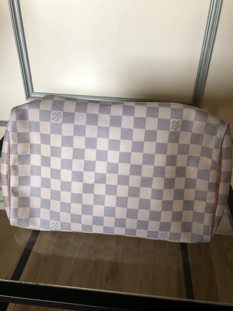 Louis Vuitton Speedy 30 damier azur