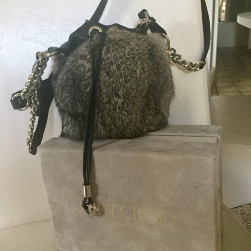Sac Jimmy Choo fourrure