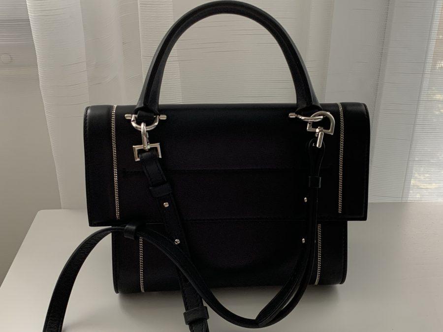 Givenchy SHARK cuir noir. Excellent état - IconPrincess
