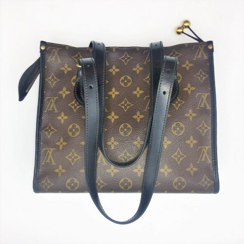 Sac Louis Vuitton popincourt customisé noir. Très bon état. Iconprincess, Icon princess