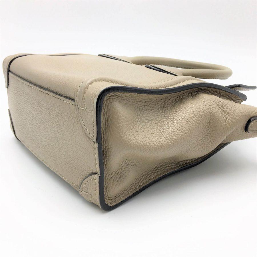 Sac Céline Luggage Nano couleur dune. Occasion en très bon état. Iconprincess