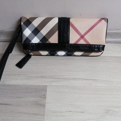 Burberry clutch Synthétique tartan