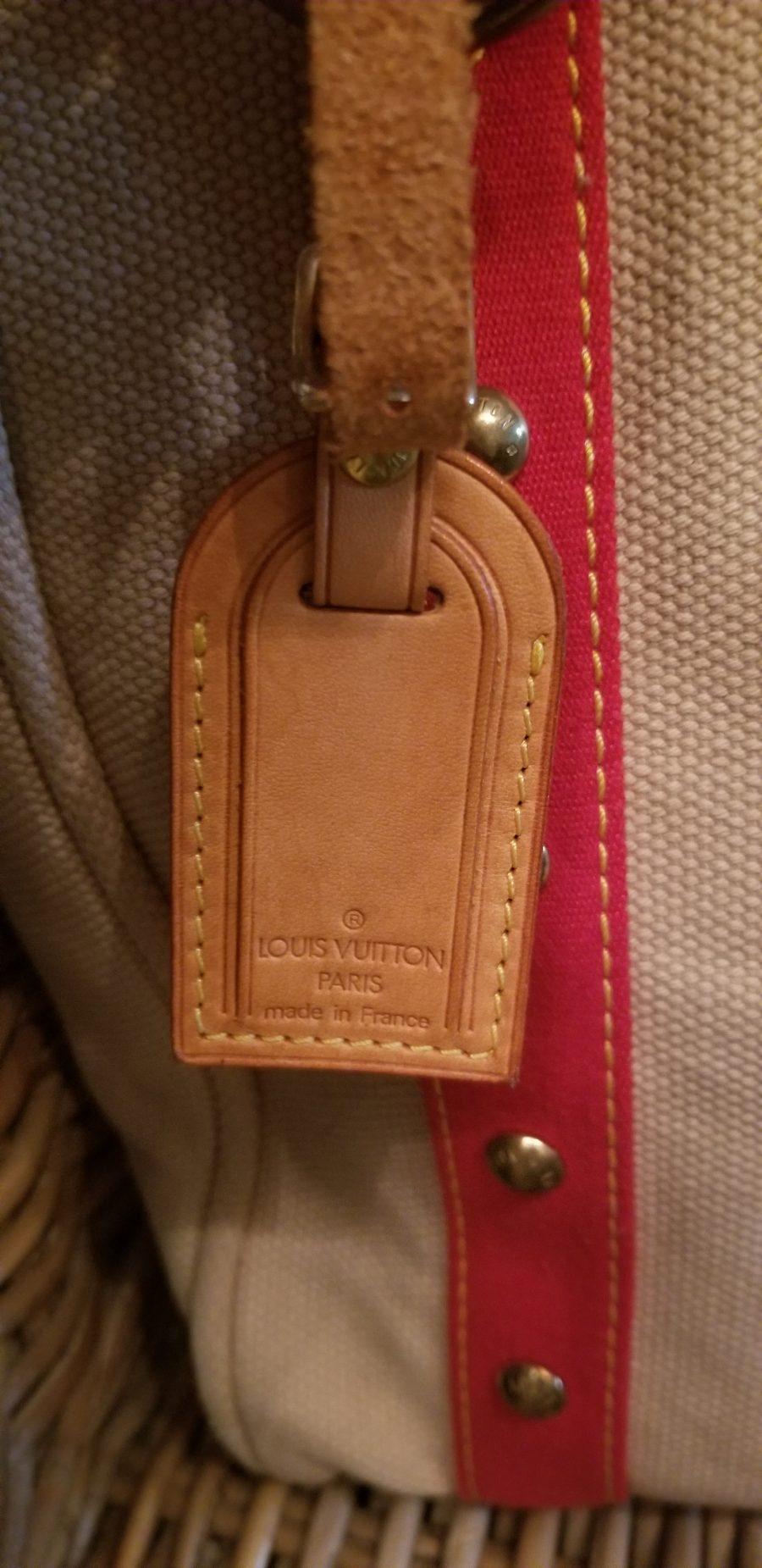 LV sac Antigua Toile
