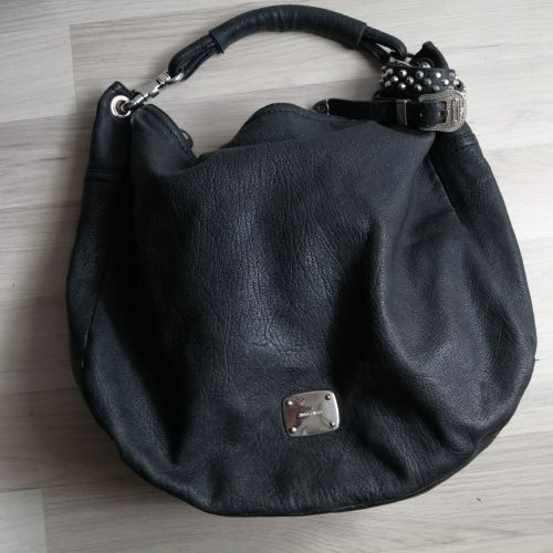 Jimmy Choo large handbag cuir noir