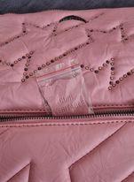 Zadig&Voltaire pochette Rock ZV cuir rose