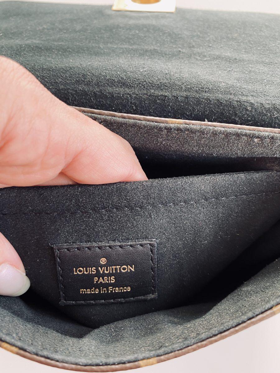 Vuitton Locky BB monogramme et cuir noir