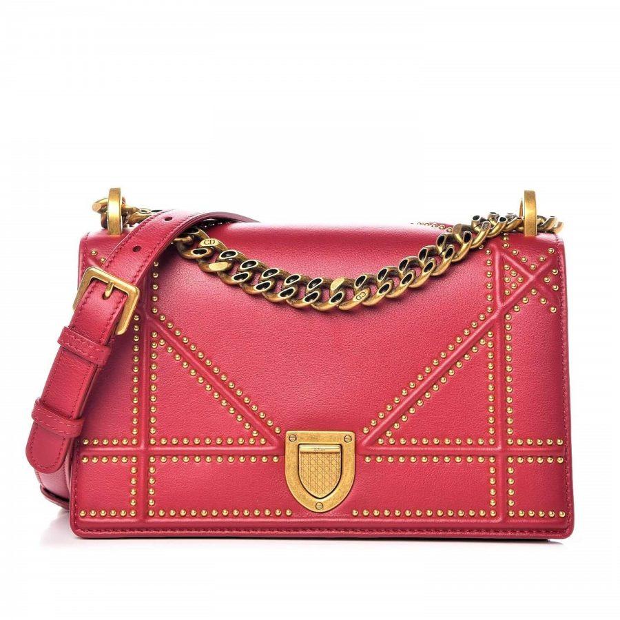 Sac Dior Diorama MM spicy red