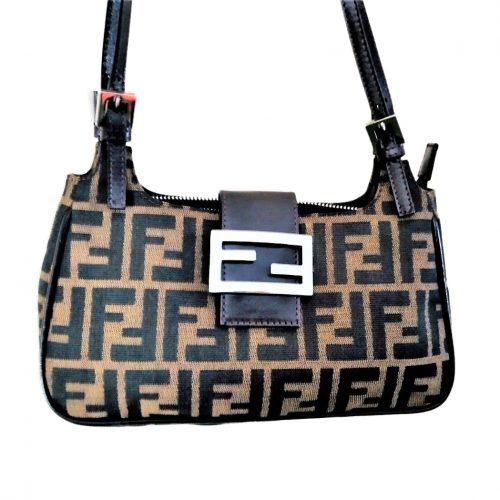 Sac à main Fendi Zucca Baguette Toile. IconPrincess