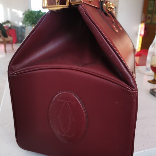 Cartier Must Diligence cuir bordeaux