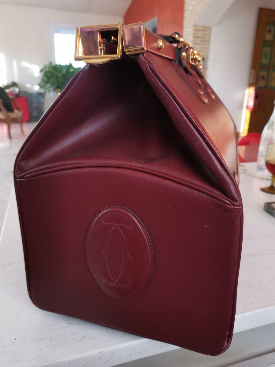 Cartier Must Diligence cuir bordeaux