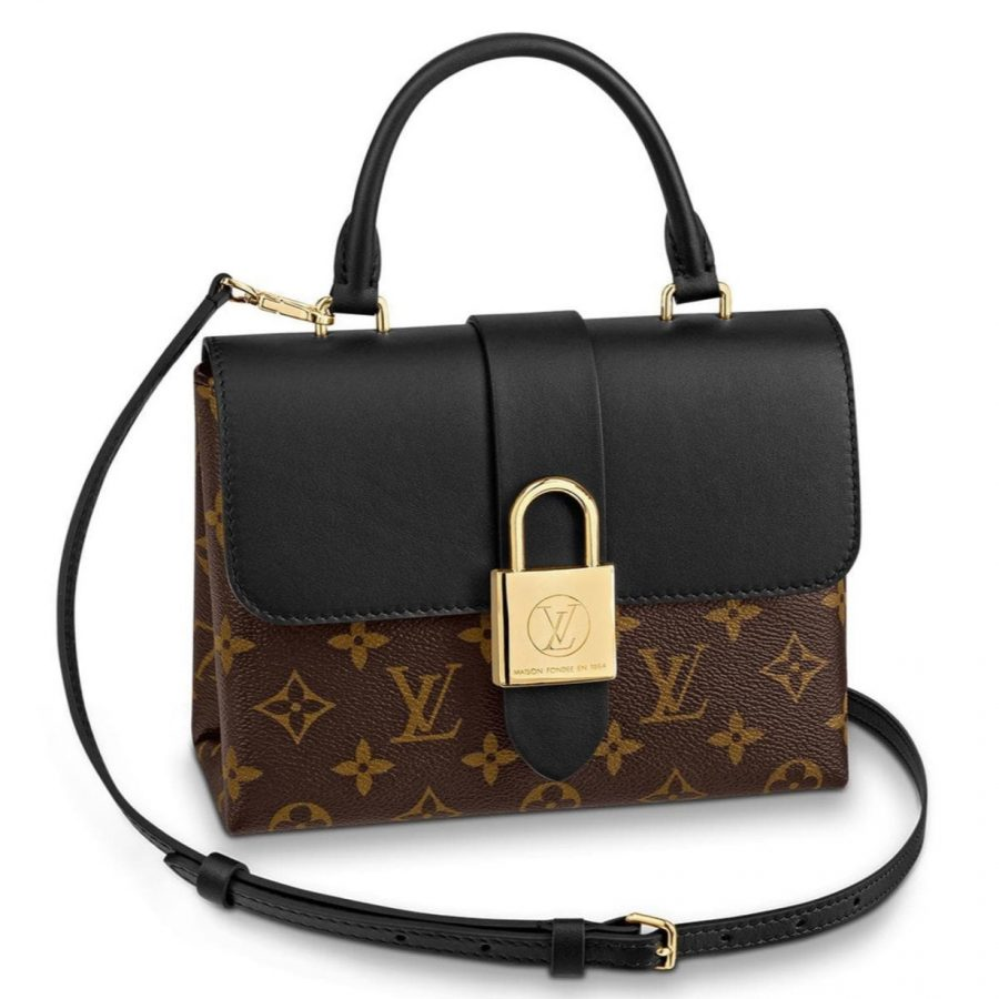 Sac Louis Vuitton Locky monogram en excellent état